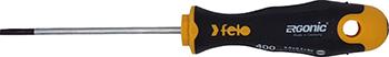 Отвертка Felo Ergonic плоская шлицевая 3 0X0 5X80 40003210 фото