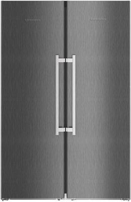 Холодильник Side by Side Liebherr SBSbs 8683-20 (SGNbs 4385-20 + SKBbs 4370-20) фото