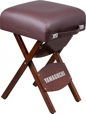 цена Стул для массажиста Yamaguchi Comfort (коричневый) 269 онлайн в 2017 году