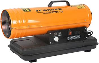 Тепловая пушка Carver EHDK-20 оранжевый 01.005.00012 электрическая тепловая пушка carver ehdk 40w