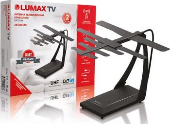 Фото - ТВ антенна Lumax DA1203A комнатная антенна lumax da1203a