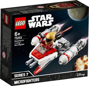 Конструктор Lego Star Wars TM Микрофайтеры: Истребитель Сопротивления типа Y 75263