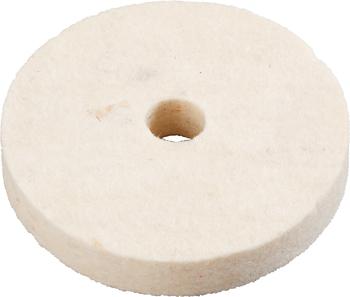 Круг полировальный для дрели Kwb D75х12мм фетр 5113-00