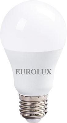 Фото - Лампа светодиодная Eurolux LL-E-A60-13W-230-2 7K-E27 (груша 13Вт тепл. Е27) белый лампочка ресанта груша ll r a60 13w 230 3k e27 76 1 17