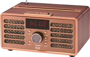 Портативная акустика MAX MR-362 Wood