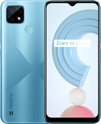 Смартфон Realme C21 64Gb 4Gb голубой