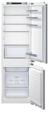лучшая цена Встраиваемый двухкамерный холодильник Siemens KI 86 NVF 20 R