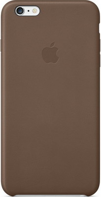 Чехол (клип-кейс) Apple iPhone 6 Plus Leather Case Olive Brown MGQR2ZM/A