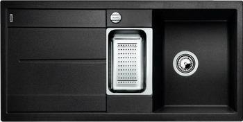 Кухонная мойка Blanco METRA 6S SILGRANIT антрацит кухонная мойка blanco metra 6s compact silgranit антрацит