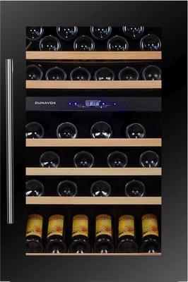 Встраиваемый винный шкаф Dunavox DX 57.146 DBK dunavox dx 28 88k