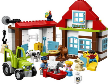 Фото - Конструктор Lego DUPLO Town: День на ферме 10869 puzzle 30 midi день на ферме в 03563