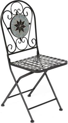 Стул Tetchair Secret De Maison Vicenza (PL 08-1070-1-GBRN) (черный с мозайкой) 11875 стул обеденный secret de maison luberon mod 5 доступные цвета коричневый с патиной