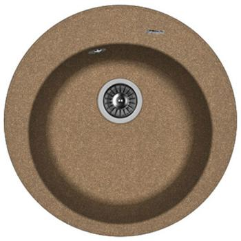 Кухонная мойка Florentina Никосия D 510 коричневый FG искусственный камень цены