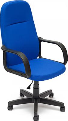 Офисное кресло Tetchair LEADER (ткань Синий 2601) кресло офисное tetchair арзониа arzonia доступные цвета обивки искусств бежевая кожа