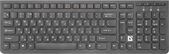 цена на Клавиатура Defender беспроводная UltraMate SM-535 RU 45535
