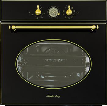 Встраиваемый электрический духовой шкаф Kuppersberg SR 669 B встраиваемый электрический духовой шкаф kuppersberg sr 669 c bronze