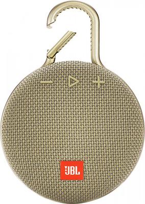 Портативная акустическая система JBL Clip 3 песочный JBLCLIP3SAND