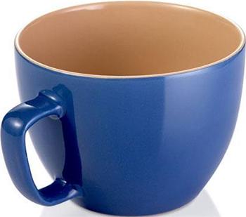 Кружка большая Tescoma CREMA SHINE синий 387194.30 кружка tescoma crema shine лазурный 387192 28