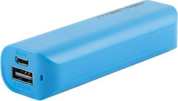 Внешний аккумулятор Red Line R-3000 (3000 mAh) синий red line b8000 pink gold внешний аккумулятор 8 000 mah