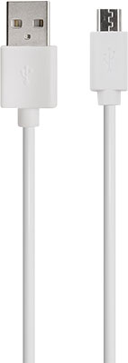 Фото - Кабель Red Line USB-micro USB 1.5А белый (мягкий футляр) футляр ansmann akku box 4000033