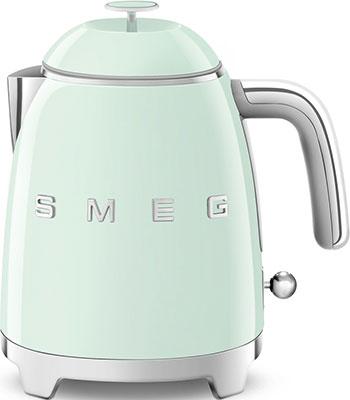 Фото - Чайник электрический Smeg KLF05PGEU зеленый чайник smeg klf04 зеленый