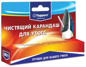 Карандаш для чистки подошвы утюга Topperr 1301 IR1 карандаш для чистки подошвы утюга top house 32 г