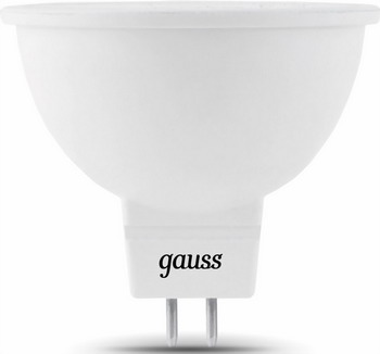 Лампа GAUSS LED MR 16 GU5.3 5W 2700 K 101505105 лампа gauss led globe e 27 6 5w 2700 k 105102107