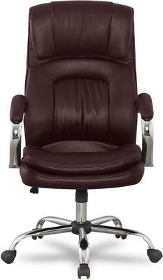 Кресло College BX-3001-1 Коричневое кресло руководителя college bx 3001 1 экокожа черный