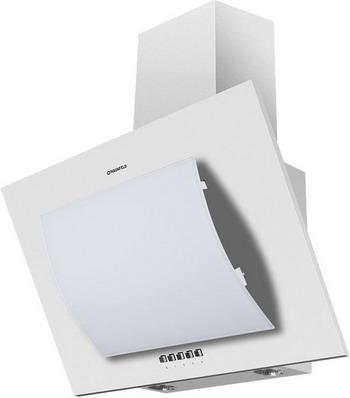 лучшая цена Вытяжка MAUNFELD TOWER ROUND 60 Белый/белое дугообразное стекло