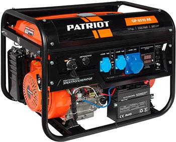 Электрический генератор и электростанция Patriot 474101580 GP 6510 AE