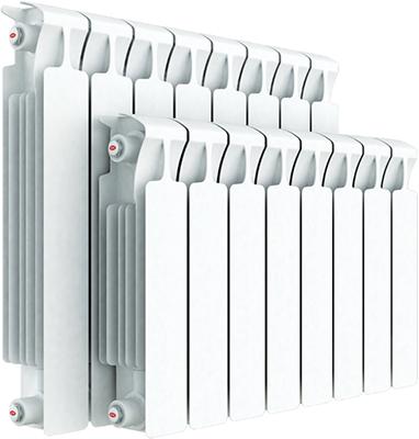 Водяной радиатор отопления RIFAR Monolit 350 х 8 сек