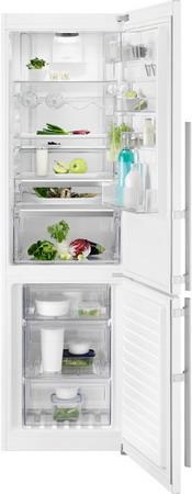 Двухкамерный холодильник Electrolux EN 3889 MFW CustomFlex двухкамерный холодильник electrolux en 3452 jow