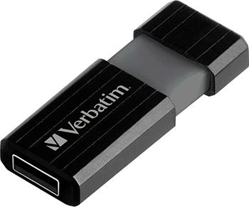 Флеш-накопитель Verbatim 32 Gb PinStripe 49064 USB2.0 черный недорого
