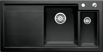 Кухонная мойка Blanco 524149 AXON II 6 S (чаша справа) керамика черный PuraPlus с кл.-авт. InFino цена 2017