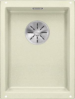 Кухонная мойка Blanco SUBLINE 320-U SILGRANIT жасмин с отв.арм. InFino 523411