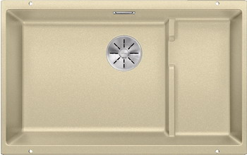 Кухонная мойка BLANCO SUBLINE 700-U Level SILGRANIT шампань с отв.арм. InFino 523544 кухонная мойка blanco subline 320 u silgranit шампань с клапаном автоматом