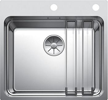 Фото - Кухонная мойка Blanco ETAGON 500 - IF/A с клапаном-автоматом нерж.сталь зеркальная полировка 521748 набор доукомлектации клапаном автоматом omoikiri a 02 ab 1 4996007