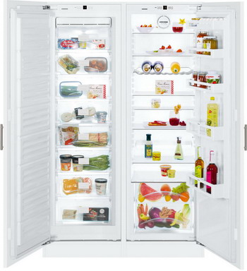 Встраиваемый холодильник Side by Side Liebherr SBS 70 I 2-20 liebherr sbs 66 i3
