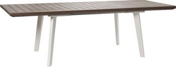 Раздвижной стол Keter Harmony Extendable белый/каппучино