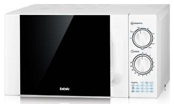 Микроволновая печь - СВЧ BBK 20 MWG-743 M/W белый цена и фото