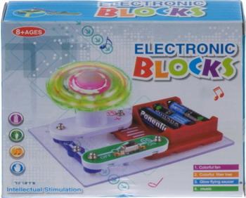 Электронный конструктор Electronic Blocks НЛО YJ 188170486 1CSC 20003426 электронный конструктор electronic blocks лампочка yj 188171445 1csc 20003424