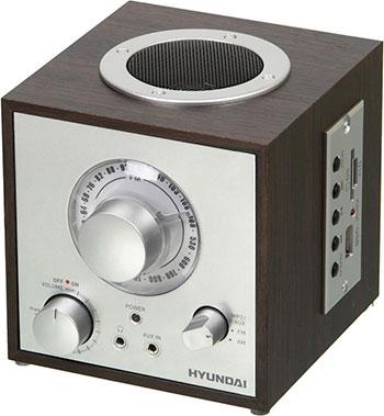 Радиоприемник Hyundai H-SRS 200 вишня