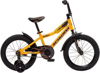 Велосипед Schwinn Scorch 16 жёлтый цена в Москве и Питере