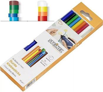 Клеевые стержни Steinel разноцветные 006969 фото