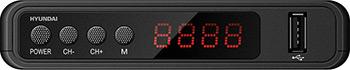 Фото - Цифровой телевизионный ресивер Hyundai DVB-T2 H-DVB 520 ресивер dvb c hyundai h dvb840 черный