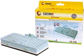 HEPA-фильтр Ozone H-19 целлюлозный для пылесоса ozone h 15 нера фильтр для пылесоса lg