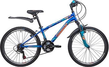 Велосипед Novatrack 24'' ACTION 24 SH 18 SV.ACTION.12 BL9 велосипед детский novatrack action цвет черный 24