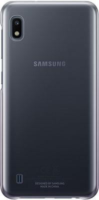 Фото - Чехол (клип-кейс) Samsung A 10 (A 105) GradationCover black EF-AA 105 CBEGRU чехол клип кейс samsung a 70 a 705 gradation cover black ef aa 705 cbegru