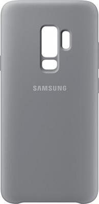 Чехол (клип-кейс) Samsung S9+ (G 965) SiliconeCover gray EF-PG 965 TJEGRU смартфон samsung galaxy s9 64 gb sm g 965 f фиолетовый