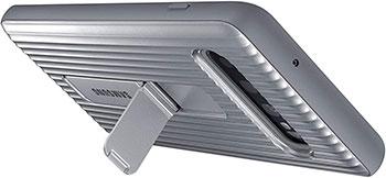 Чехол (клип-кейс) Samsung S 10 (G 973) ProtectiveStanding silver EF-RG 973 CSEGRU все е для samsung s